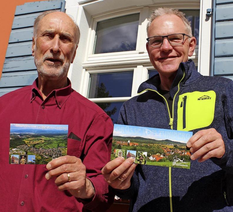 Peter Brand (links) und Uwe Falk  | Foto: Mario Schöneberg
