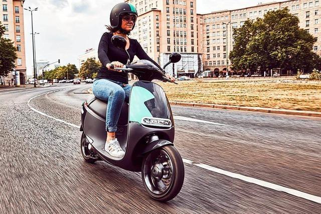 Zahl der elektrischen Roller in Deutschland steigt rapide