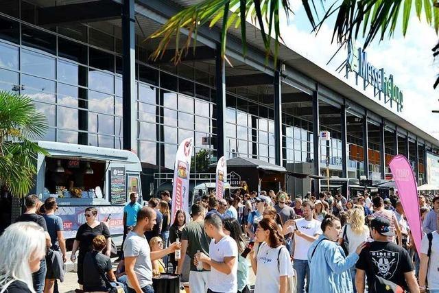 Qual der Wahl beim Foodtruck-Festival am Messe-Boulevard