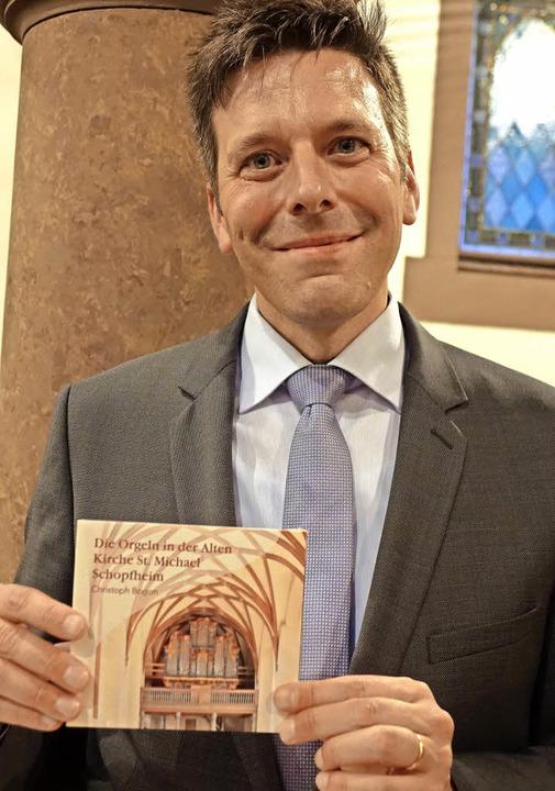 Bezirkskantor Christoph Bogon hat eine...Alten Kirche St. Michael eingespielt.   | Foto: Roswitha Frey