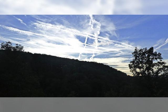 Der #-Himmel über Hüsingen