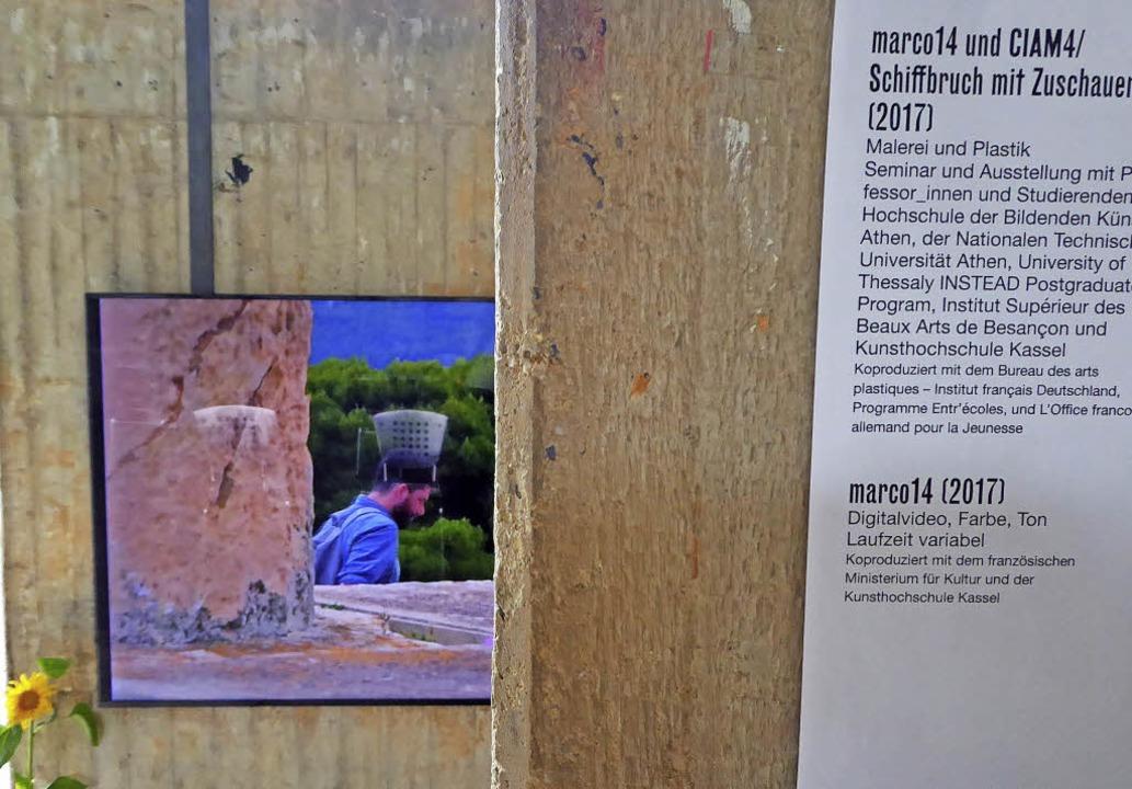 Der lörracher rainer oldendorf stellt auf der documenta aus