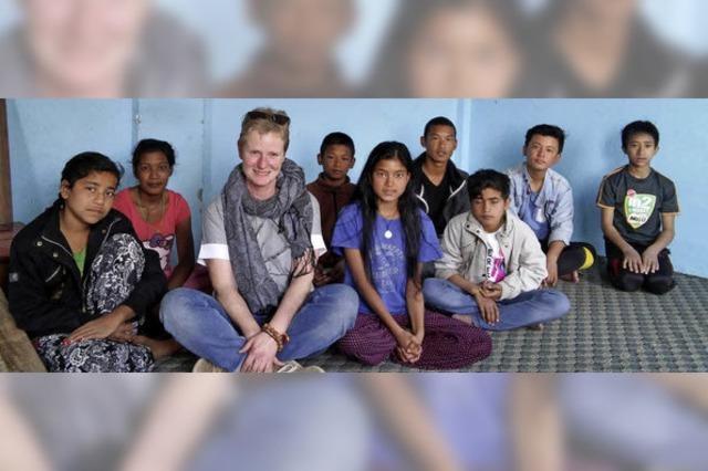Aus Liebe zu den Menschen in Nepal