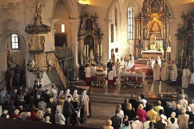 Erzbischof Georg Gänswein zelebriert Patrozinium in der Wallfahrtskirche