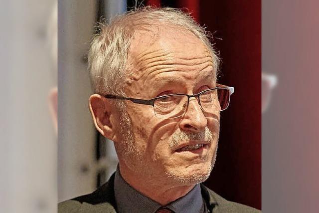 Warum SPD-Stadtrat Bertold Thoma gegen die AfD in Offenburg auf die Straße gegangen ist