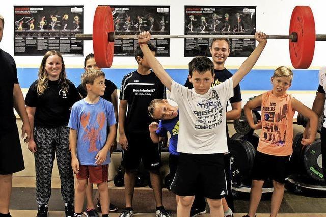 Spaß am Gewichtheben
