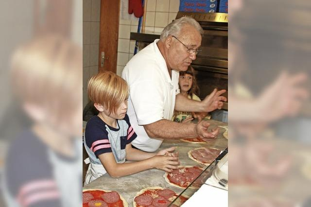 Viele Tipps vom Pizza-Profi