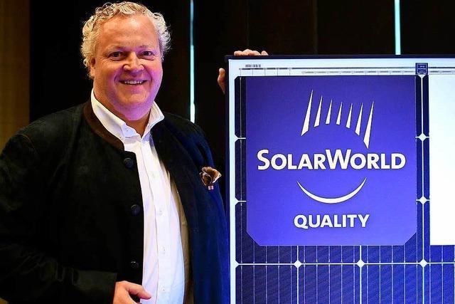 Scheichs aus Katar glauben an Solarworld
