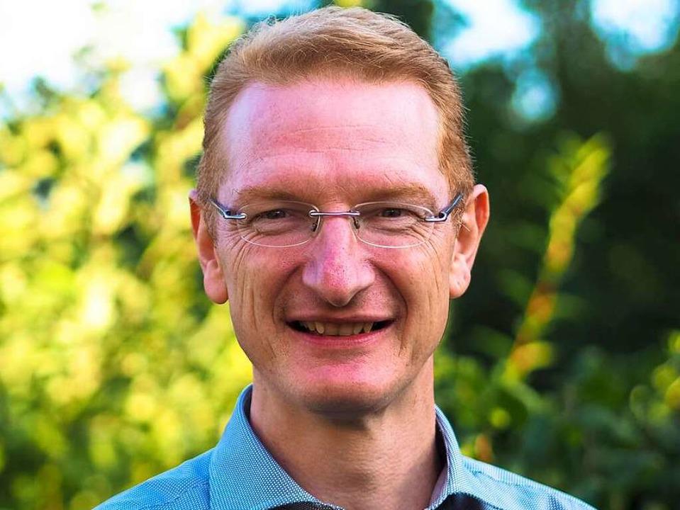 Thomas Gedemer will Bürgermeister von Herbolzheim werden.    Foto: privat