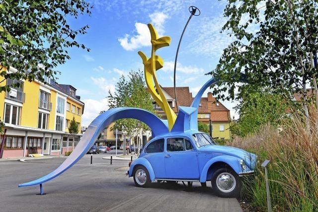 VW-Käfer zieht Blicke an