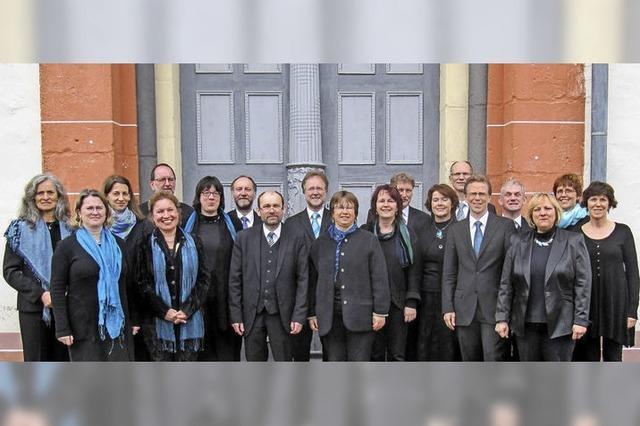 Kammerchor Gesualdo gastiert am Donnerstag, 24. August, in der Wallfahrtskirche Todtmoos