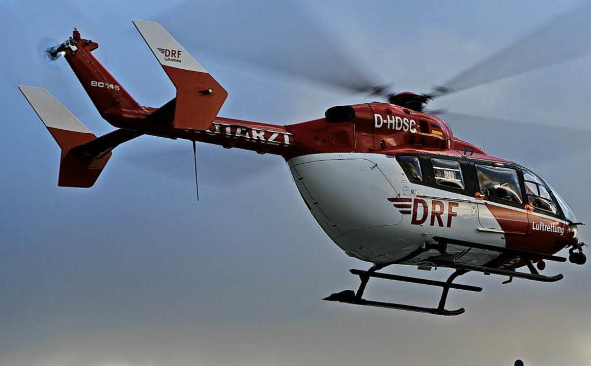 Die DRF-Luftrettung wird ab Mitte Sept...r Notfallpatienten im Kreis Waldshut.     Foto: Rehder/DPA