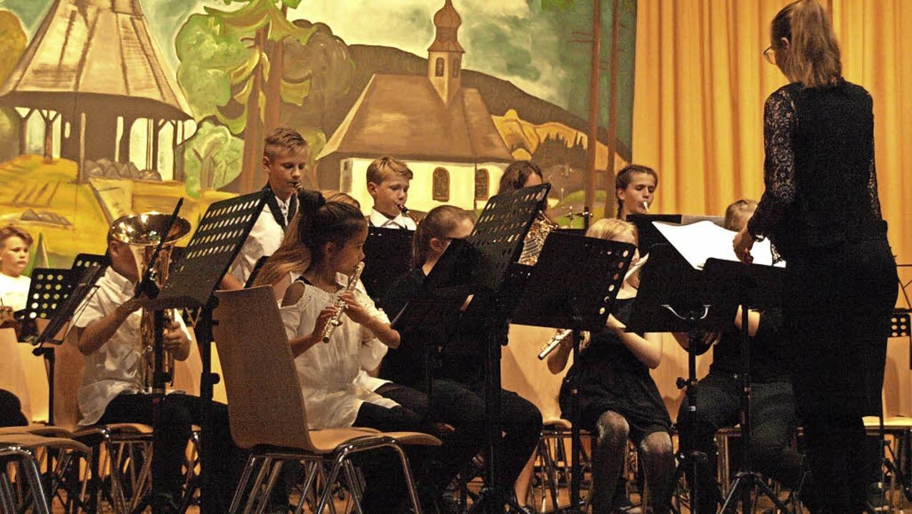 Ein umjubeltes Konzert gaben die junge...lle im Rahmen ihres Schwarzwaldbesuchs  | Foto: Karin Stöckl-Steinebrunner