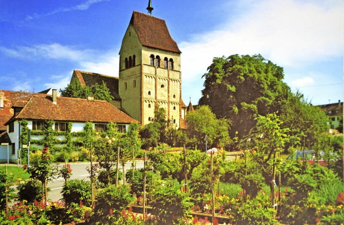 Die Kirche St. Georg in Reichenau Ober...sichtigungsort der CDU-Seniorenunion.   | Foto: Georg Diehl