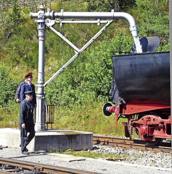 Dampf braucht Kohle und Wasser.    Foto: Gert Brichta