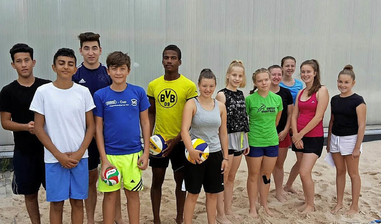 Sie alle waren mit Begeisterung dabei ...amp des SV Waldkirch für Jugendliche.   | Foto: Barbara Böhler
