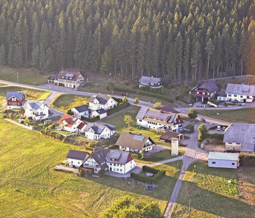 Das Baugebiet Spitzwald weist noch Lücken auf.     Foto: Gert Brichta