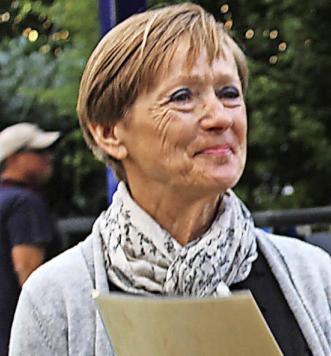 Auch die Leistungen der 70-jährigen Le...tin Brigitte Nittel wurden gewürdigt.   | Foto: Erich Krieger