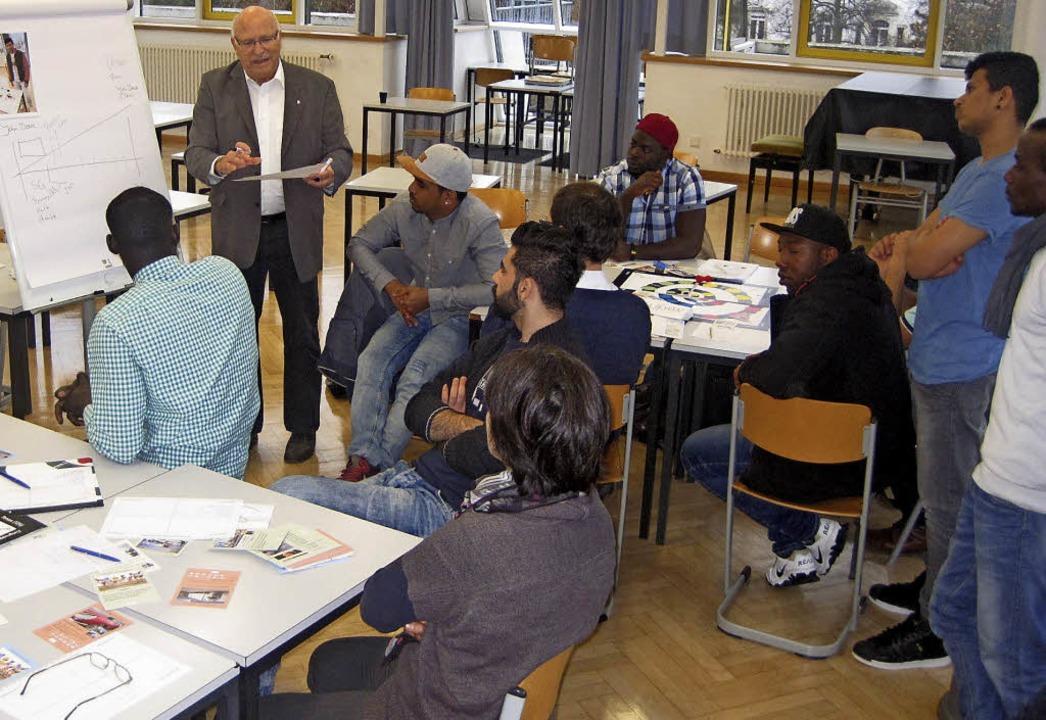 Ein Workshop mit dem Strategieberater ... die Bestimmung beruflicher Optionen.     Foto: Privat