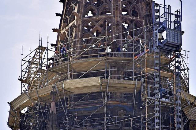 Ein Stück mehr Münsterturm