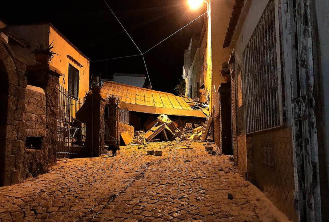 Ein  Erdstoß der Stärke 4,0 hat die Mi... Montagabend gegen 21 Uhr erschüttert.  | Foto: AFP