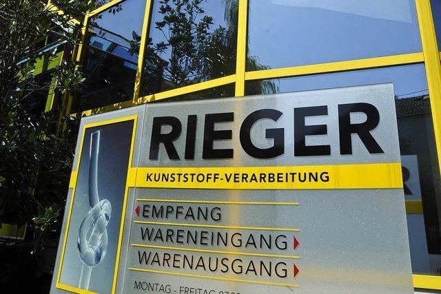 Generationswechsel bei der Traditionsfirma Rieger in Britzingen
