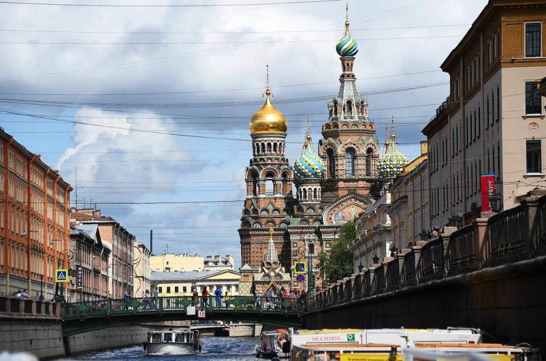 Wie nachhaltig ist der Aufschwung in Russland? Hier auf dem Bild St. Petersburg    Foto: dpa