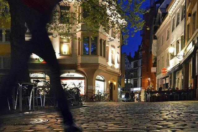 Freiburger Schaufenster sollen nachts dunkel bleiben