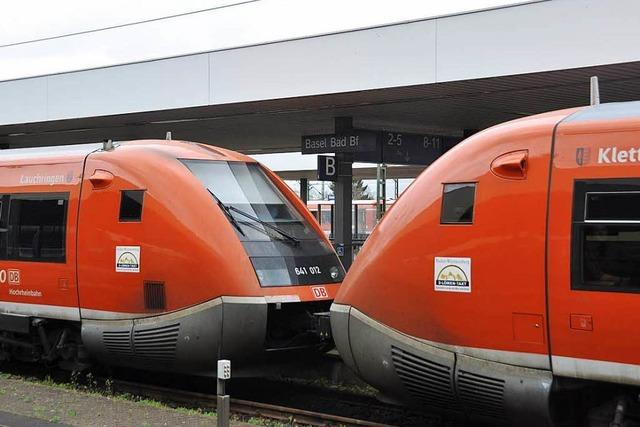 Chaos bei Rheintalbahn: Die Hochrheinstrecke als Alternative?