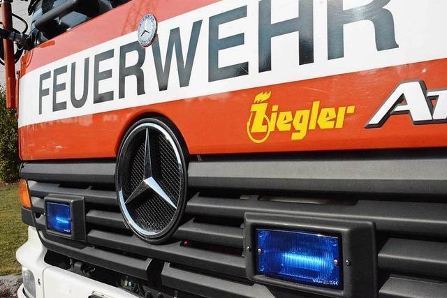 Vergessener Wasserkocher löst Feueralarm in Lörrach aus