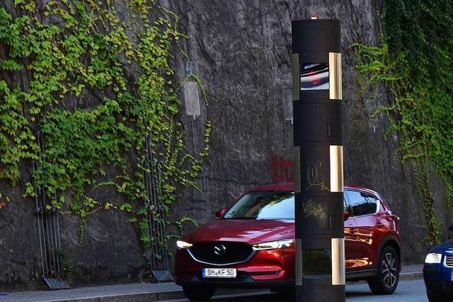 Sind Freiburgs Blitzer korrekt installiert?
