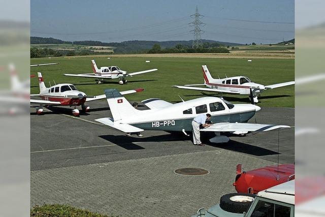 Der Flugplatz Schupfart rüstet auf