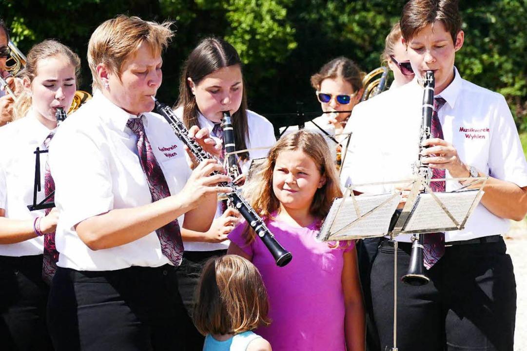 Musikverein Wyhlen spielt auf.    Foto: Ralf H. Dorweiler