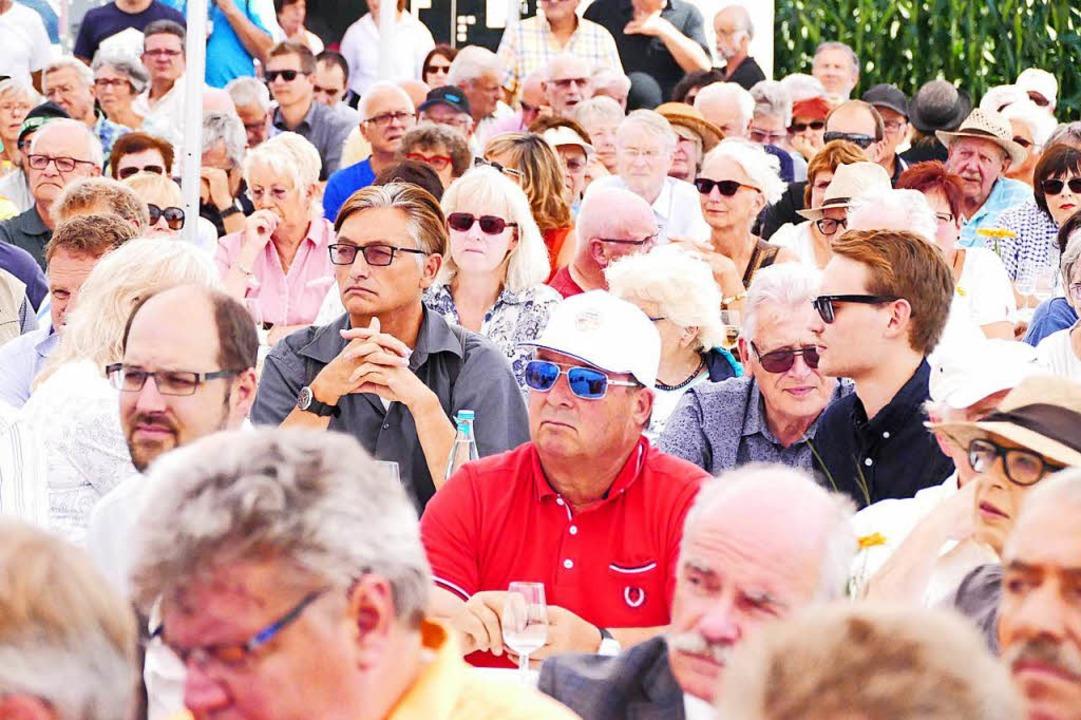 Viele Zuschauer waren gekommen.    Foto: Ralf H. Dorweiler