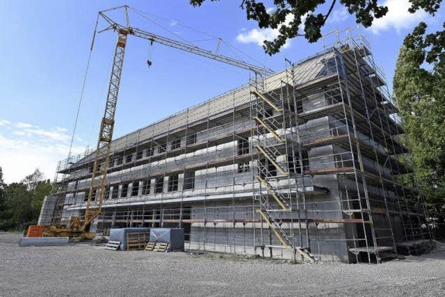 Der Erweiterungsbau der Pestalozzi-Schule soll nächstes Frühjahr fertig sein