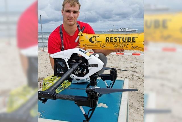 Drohne soll vor Ertrinken retten