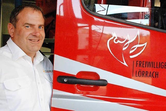 Für Stephan Schepperle ist die Lörracher Feuerwehr wie eine große Familie
