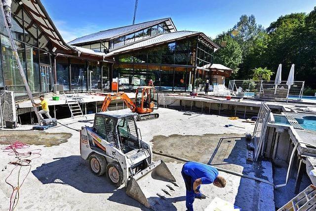 Saniertes Keidel-Bad macht zunächst ohne Außenbecken wieder auf