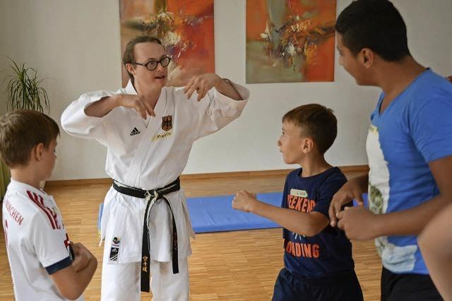 Kampfkunst hat nichts mit Draufhauen zu tun
