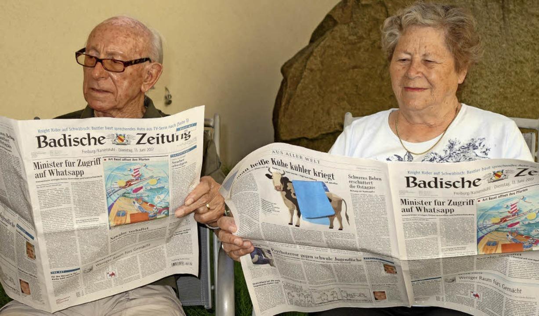 Wer in der Urlaubszeit seine Tageszeit...t, kann den Bewohnern Freude bereiten.  | Foto: Privat