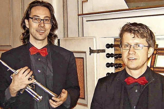 Duo Presto gibt Benefizkonzert in der Kirche St. Martin in Luttingen