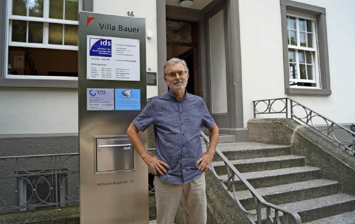 """""""Wir sind gut aufgestellt""""...Institut für deutsche Sprache leitet.     Foto: C. Storck"""