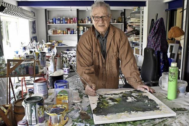 Hilko Weerda aus Ebnet ist emeritierter Professor, Künstler und Sammler