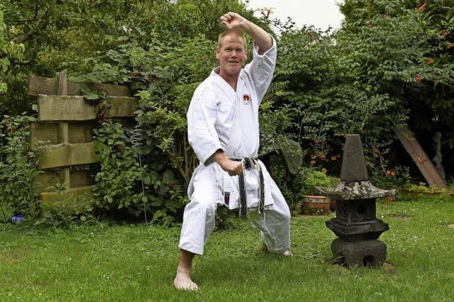 Andreas Einecker ist Karateka durch Zufall