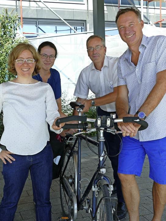Hannah Eberhardt vom Heidelberger Büro...en neue Wege der Mobilität aufzeigen.     Foto: SENF