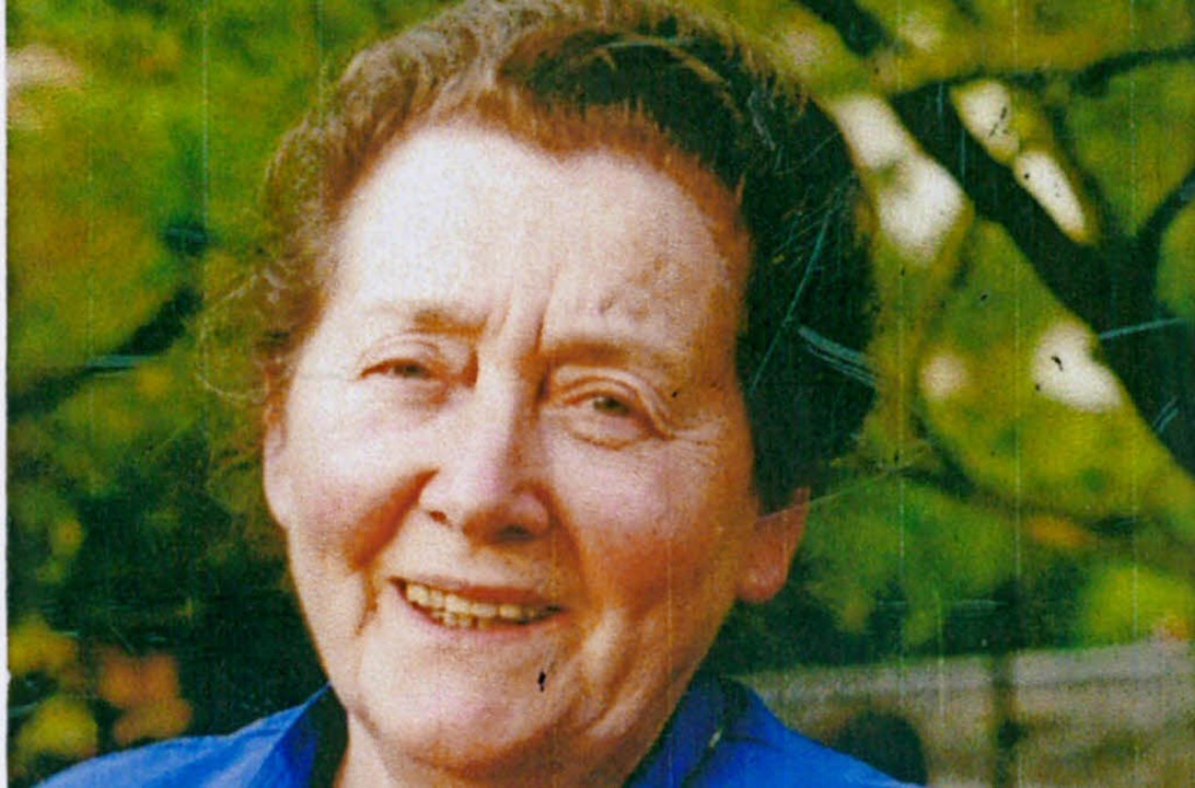 Gertrud Huber  | Foto: Privat