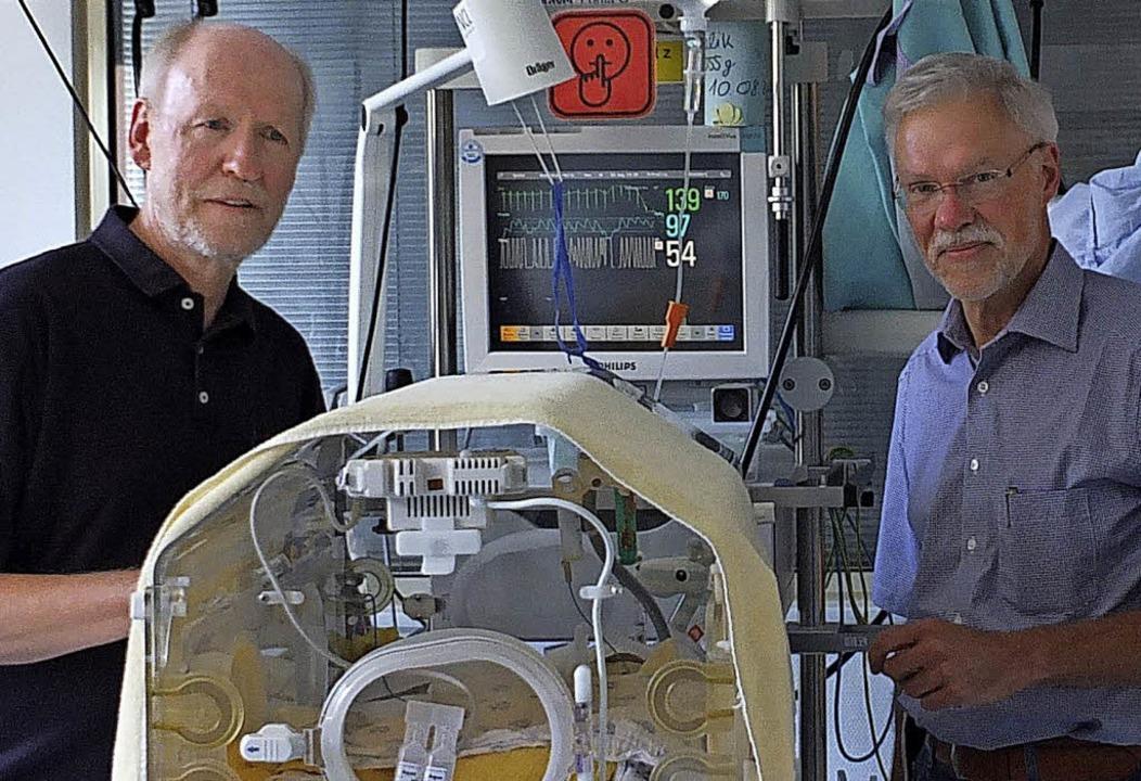 Die Chefärzte Kurt Bischofberger und Hubert Fahnenstich (rechts)   | Foto: Martina David-Wenk