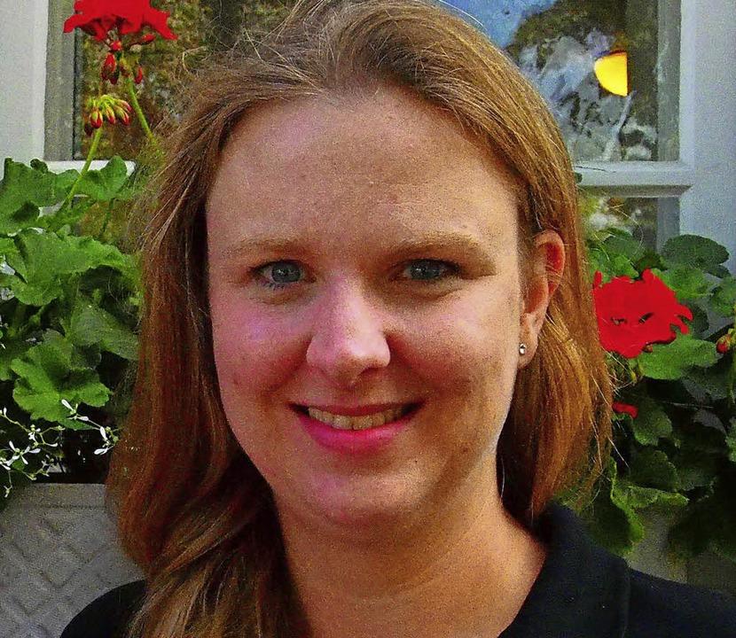 Stephanie Braun ist für die Partnerstädte aktiv.     Foto: Boris Burkhardt