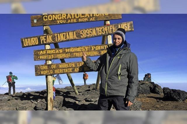 Der Kilimandscharo ist kein Spaziergang
