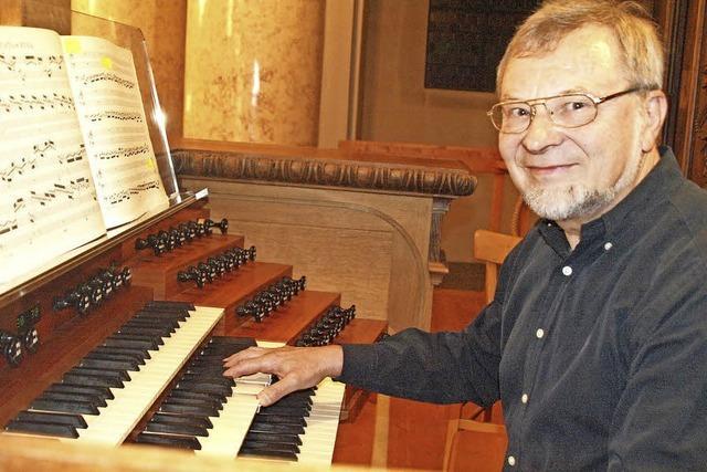 Marx lässt die Orgel singen und tanzen